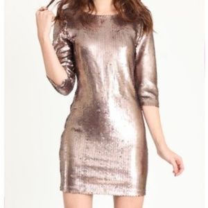 BB Dakota Dakota Sequin Mini Party Dress
